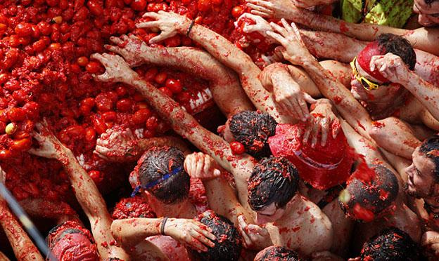 Celebrations From Around The World - La Tomatina