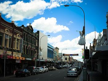 Launceston a Small Towns in Australia