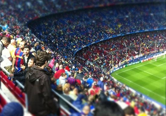 Visiting The Great Cities Of Europe- Nou Camp Stadium