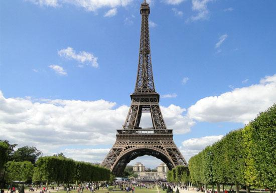 Paris one of the most favorable cities