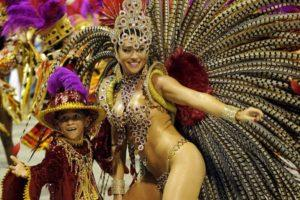 Round the world trip to Rio Carnnival in Brazil