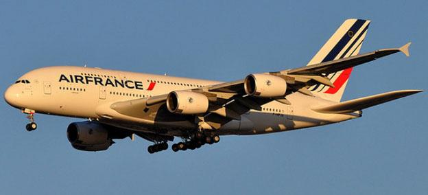 Worlds safest airlines - Air France airplane