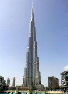 World's Tallest Constructions - Burj Khalifa Dubai