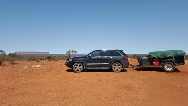 Camping by car in Australia