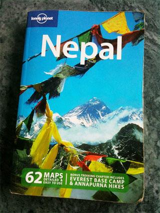 Trip To Nepal - Lonely planet Nepal book