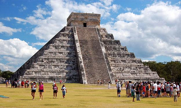 top vacation destinations - Mayan ruins yucatan peninsula