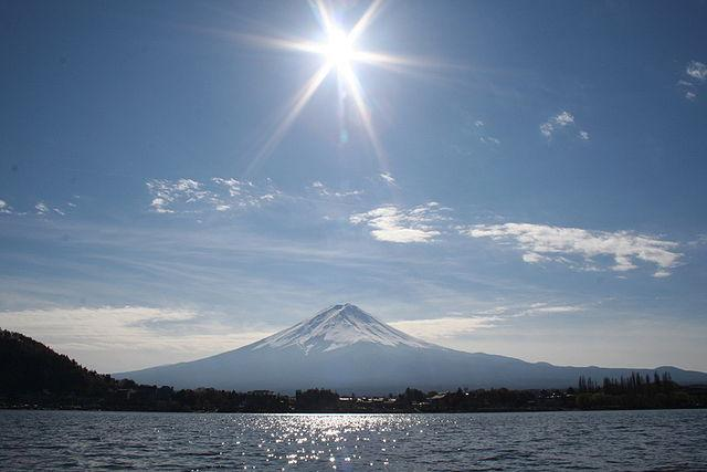 Number One Destination for Snow - Mount Fuji from Lake Kawaguchi