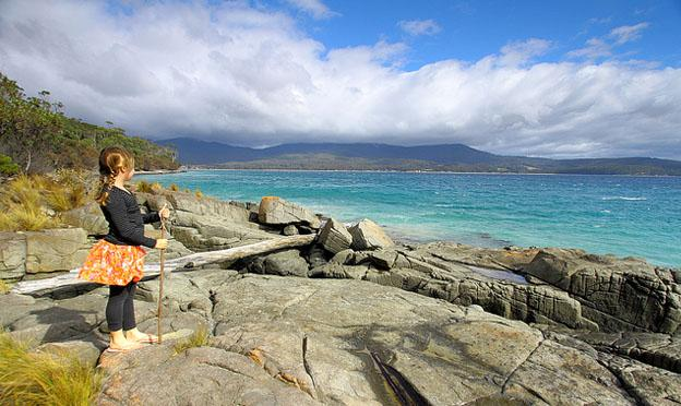Travel Destinations in Australia - Bruny island in Tasmania