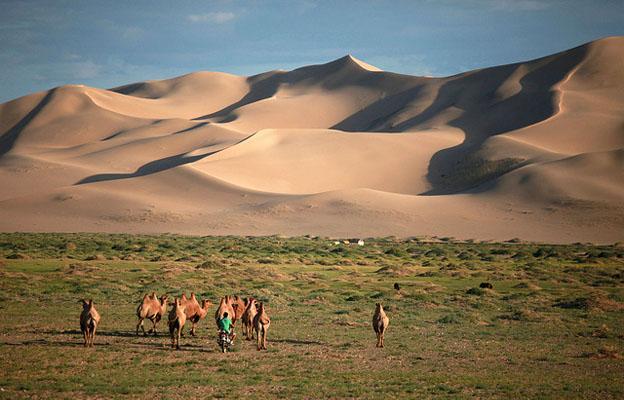 Essential Mongolia - Gobi desert in Mongolia