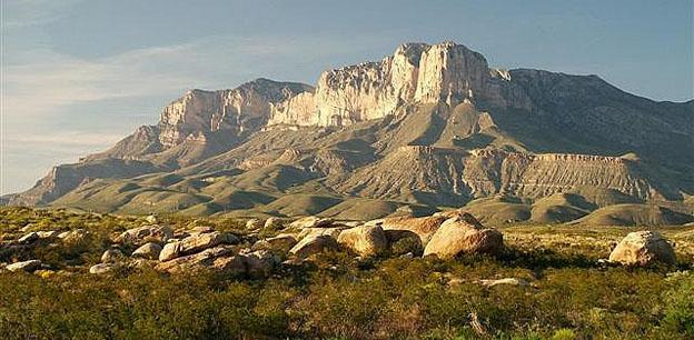 Train Vacation. - Guadalupe mountains national park
