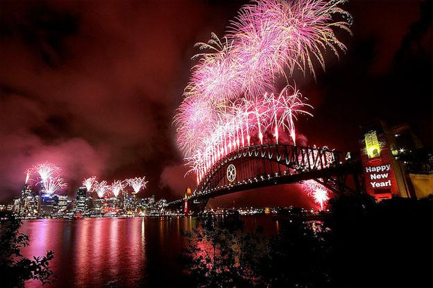 Summer activities in Sydney - New Year eve Sydney Australia