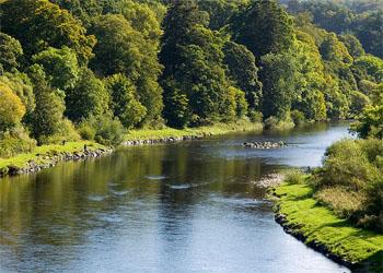 River Tweed in Scotland