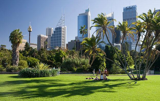 Attractions in Sydney - Royal botanic gardens Sydney Australia