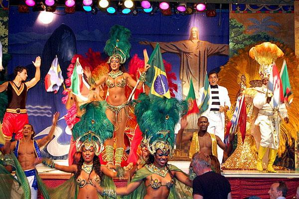 Things Brazil is Famous For - Samba Dance