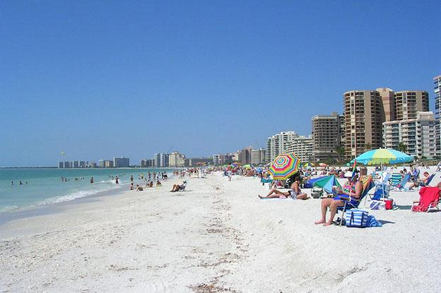 North American paradise coast - South Marco beach