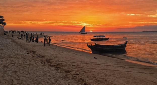 Sunsets in Zanzibar Tanzania 2016