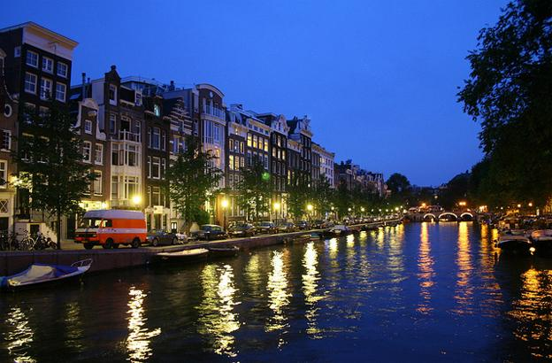 Destinations for Stag Weekends - Amsterdam river