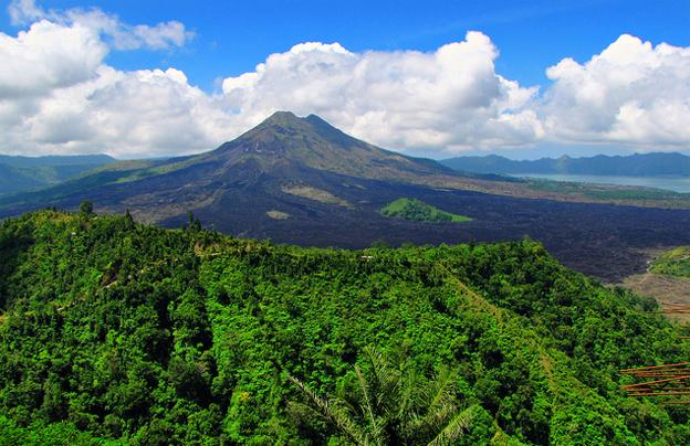 The Land Of Volcanoes - Batur volcano Bali Indonesia