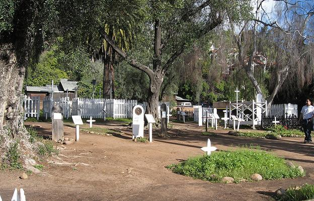 Most Haunted Cemeteries In The World Dell Campo Santo Cemetery San Diego