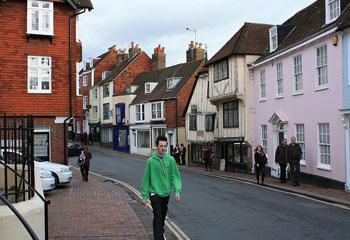 Attractions in Sussex - Lewes old town in Sussex