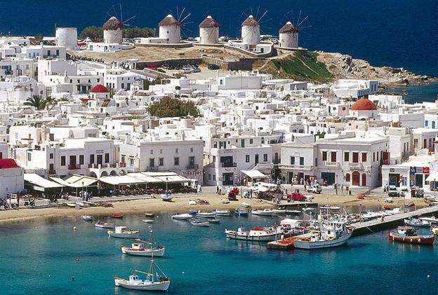Party Destinations in Europe - Mykonos Greece