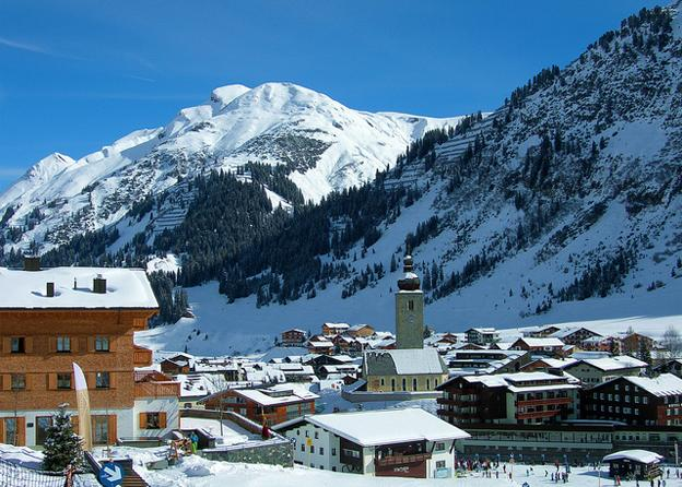 European honeymoon destinations - Sankt Anton Austria