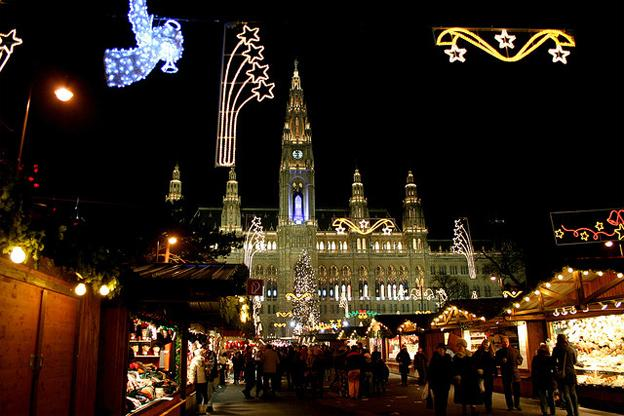 Romantic Vacation Ideas Vienna Christmas Holiday