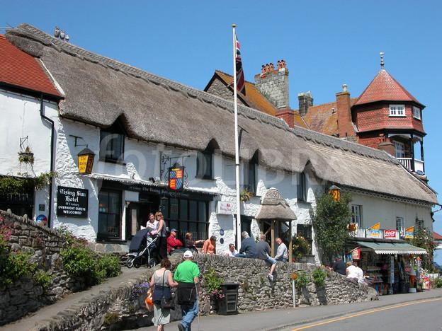 Pub Grub in Devon - The rising sun pub in Devon