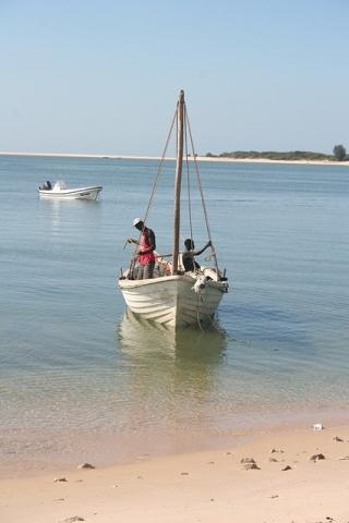 Mozambique beach holiday