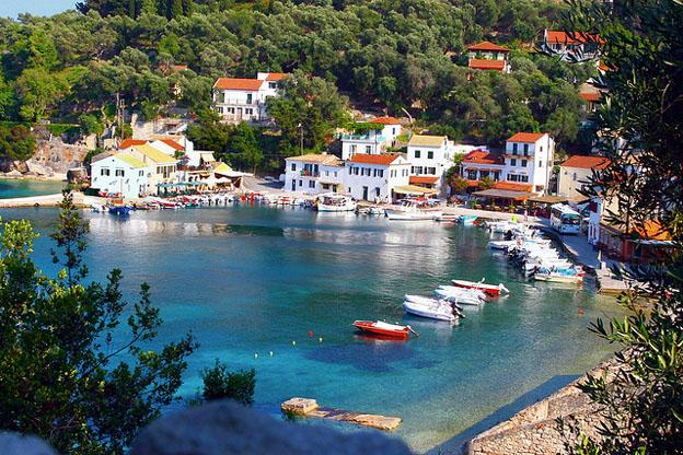 A relaxing European destinations - Paxos island Greek island