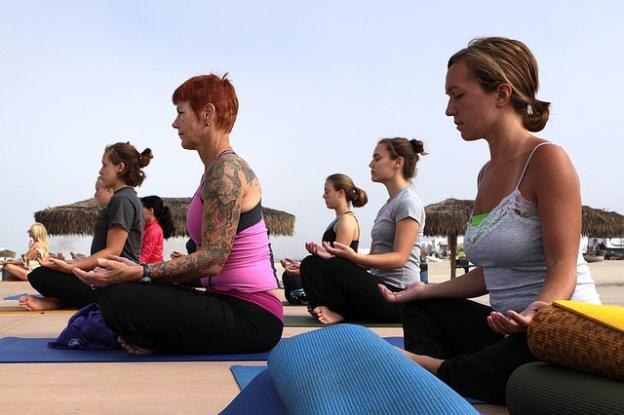 Yoga - women fitness holidays