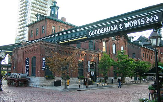 Attractions in Toronto - Distillery District