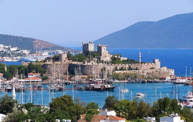 Enjoying Turkey on a Budget Bodrum-Castle