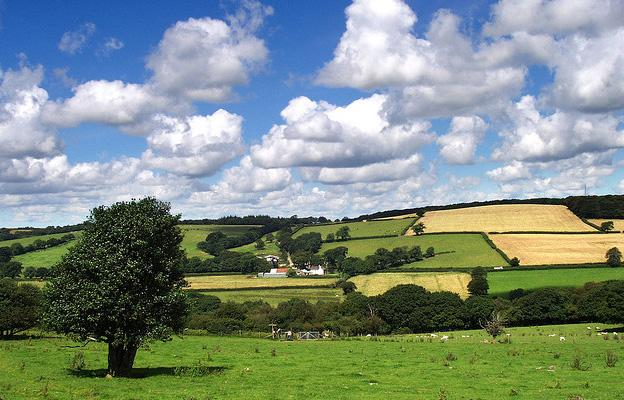 Devon countryside is part of the guide to the perfect Staycation