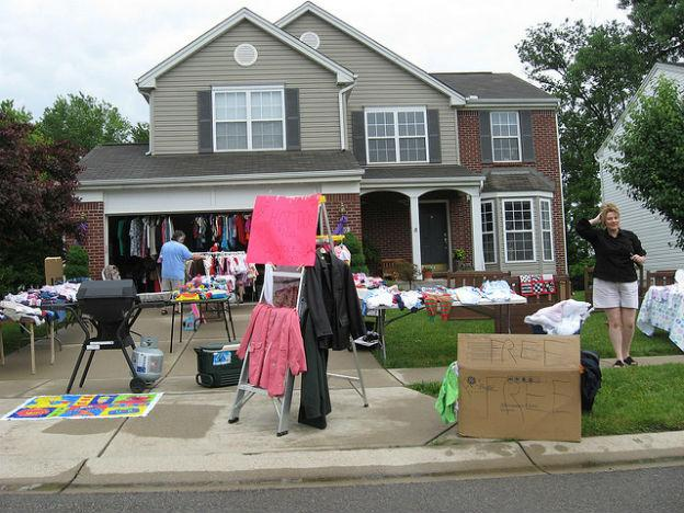 Garage sale is a way fund your dream holiday