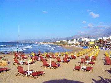 Crete on a Budget: Stalis Beach Crete