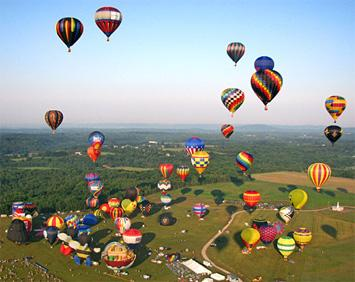 Best Festivals in August - Spiedie Fest and Balloon Rally