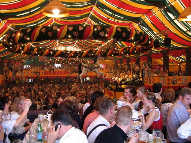 Octoberfest or in German Oktoberfest