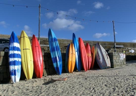 Surf Breaks in Cornwall