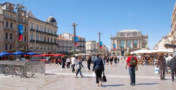 Montpellier in France