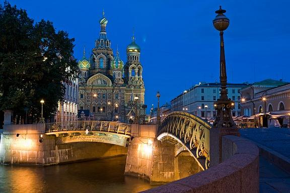 Church on the Spilled Blood in St Petersburg
