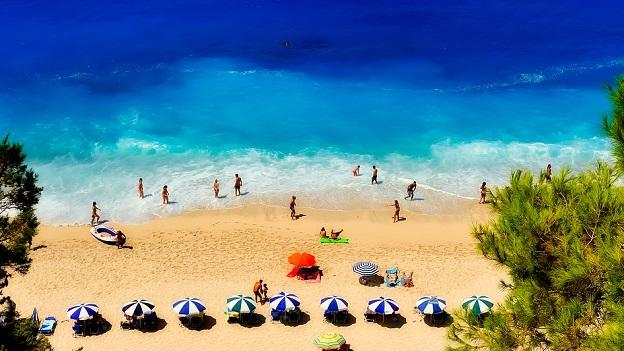 Kefalonia beach Greece