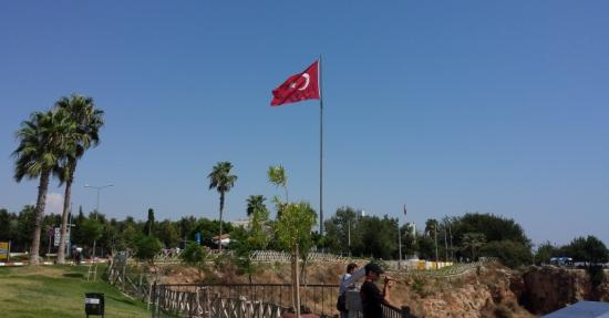 Turkish flag - Lads holiday to Antalya 2015