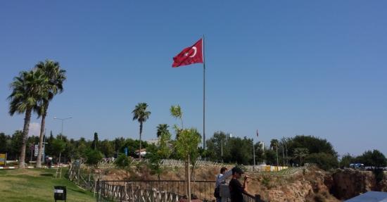 Turkish flag - Lads holiday to Antalya 2015