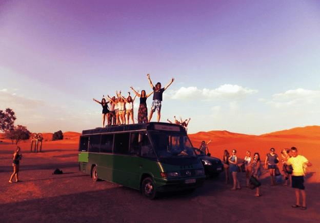 Maroc N Roll 2016 bus