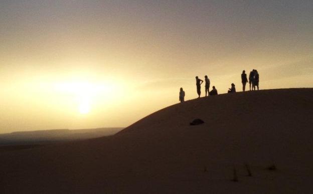Maroc N Roll 2016 Sahara desert