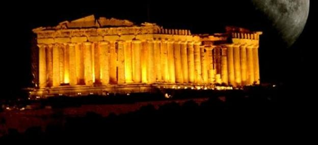 Akropolis by night