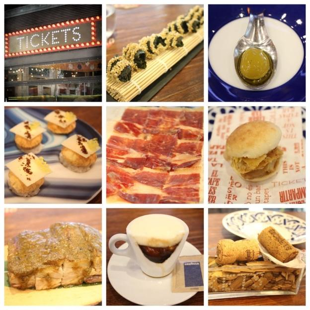Eating out in Barcelona: Tickets Tapas