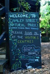 Camley street natural park in London - Top attractions in the UK