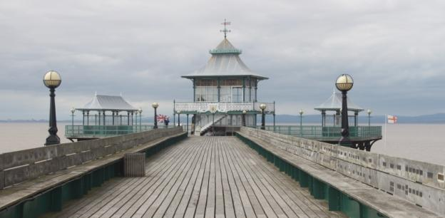 Top attractions in the UK - Clevedon Pier 2016